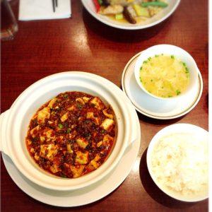 Chinesefood,Japanesefood,Japaneserestaurant,Nakajimayahotel,Hotelchinese,MapoTofu,AlmondJelly,Tofu,Japan,Shizuoka,ShizuokaNakajimaya,Shinsenhanten,go2japan,